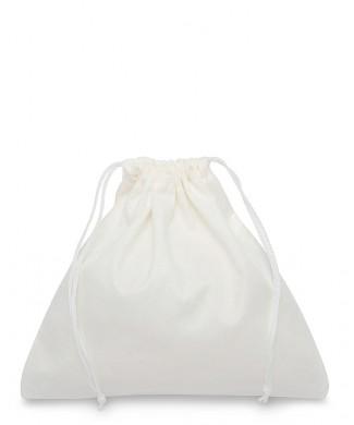 Sacchetto Bianco in Viscosa 40x38cm per Tronchetti, Borse e Pelletteria