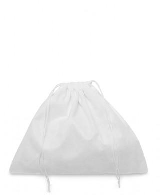 Sacchetto Bianco in Viscosa 50x40cm per Borse Donna, Borse Uomo e Pelletteria
