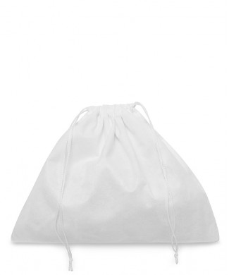 White Viscose Bag 60x50cm for Leather Boots, Bags and Accessories