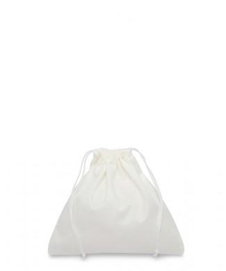 Sacchetto Bianco 20x20cm per Piccola Pelletteria, Cinture, Preziosi e Bigiotteria