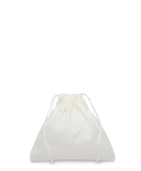 White Bag 20x20cm for Small Leather Goods, Belts, Precious and Costume Jewelery
