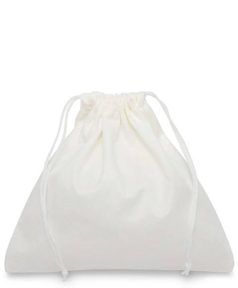 White Viscose Bag 60x50cm for Bags and Leather Goods