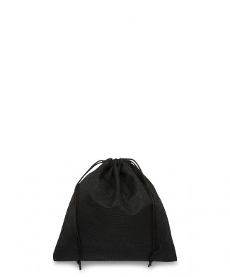 Black Bag 20x20cm for Small Leather Goods, Belts, Precious and Costume Jewelery