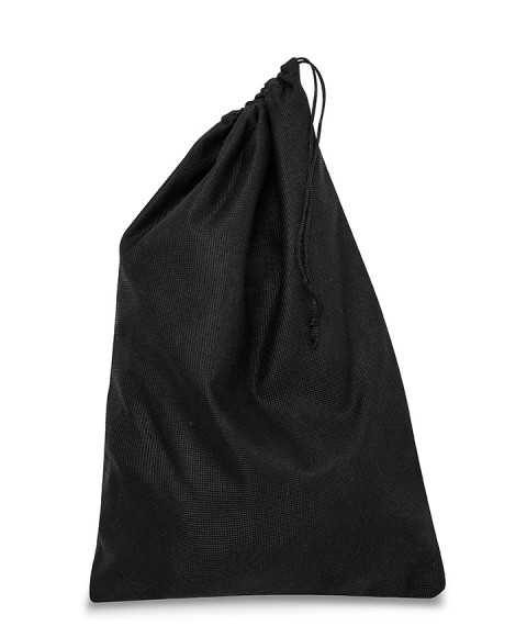 Black Bag 25x37cm for Women's Shoes and Leather Goods