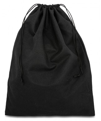 Black Polyester TNT Bag 30x40cm for Women's Shoes and Men's Shoes