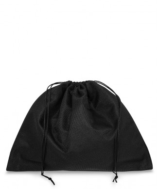 Black Polyester 35x30cm Bag for Small Leather Goods, Clutches and Clutches