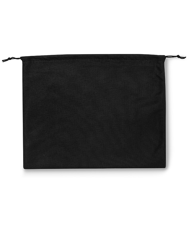 Black Polyester Bag 50x40cm for Women's Bags, Men's Bags and Leather Goods