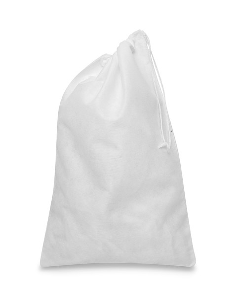 White Bag 25x37cm for Women's Shoes and Leather Goods