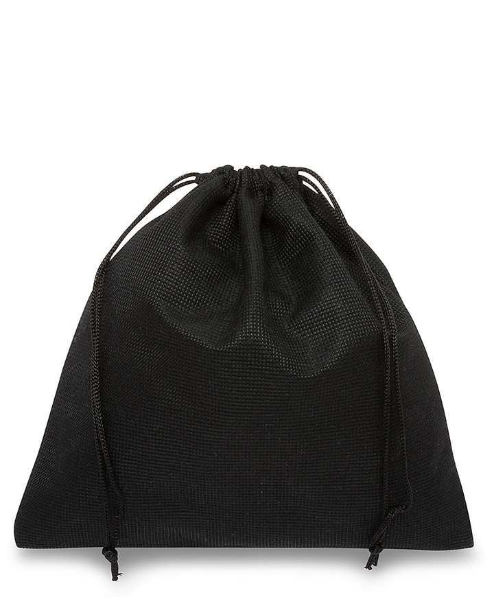 Black Polyester Bag 60x50cm for Bags and Leather Goods