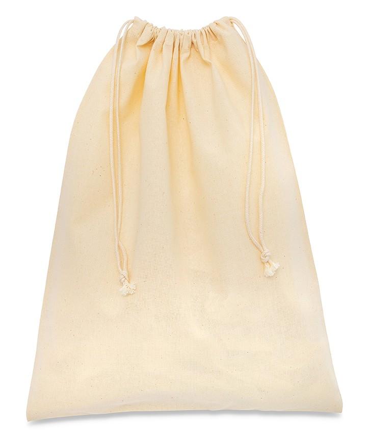 Cotton Bag 20x40cm 100% Natural Ecru 110 gr/mtq for Men's and Women's Shoes