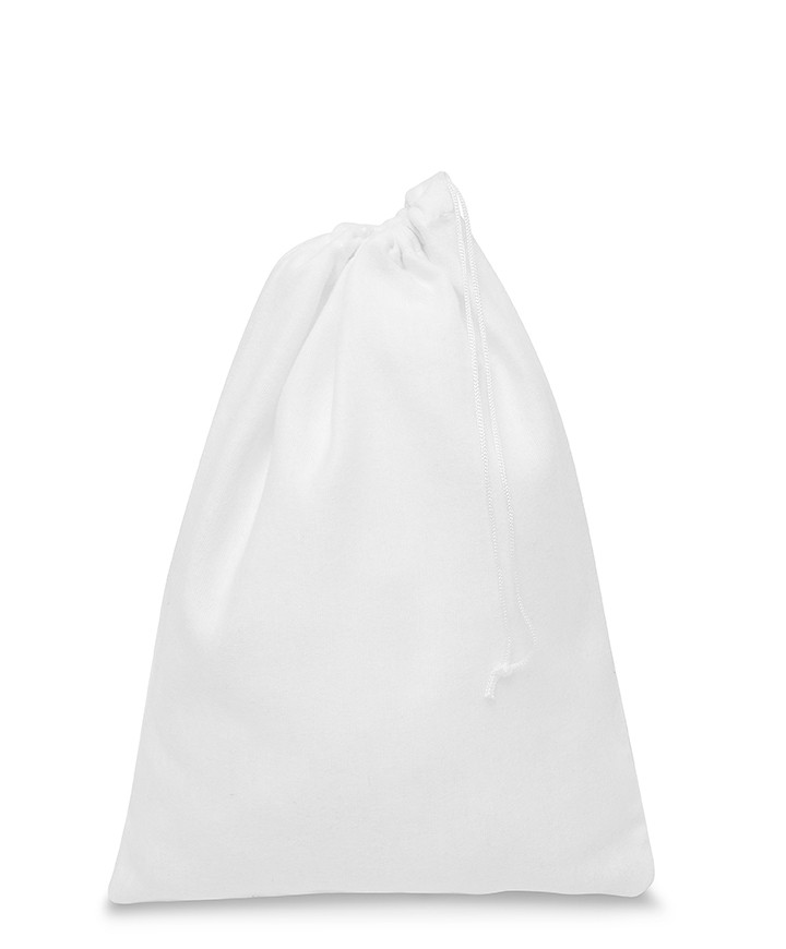 Fleece White Bag 30x40cm 165gr/mtq for Women's Shoes and Leather Goods