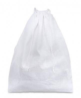 Sacchetto 30x40cm in Policotone Bianco 165gr/mtq per Scarpe Donna e Scarpe Uomo ed Accessori