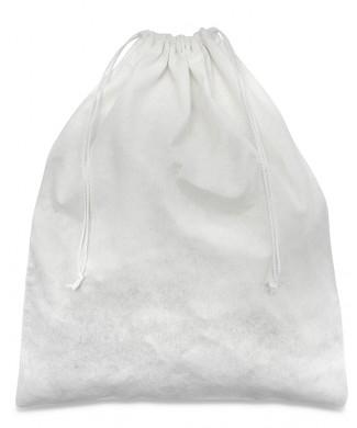 Sacchetto Viscosa Bianco 30x40cm per Scarpe Uomo e Scarpe Donna