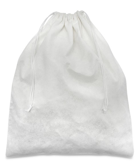 White Viscose Bag 30x40cm for Women's Shoes and Men's Shoes